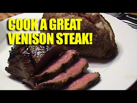 How to grill a great venison steak!