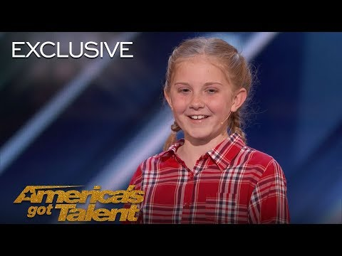 Lily Wilker Recounts Auditioning For Favorite Judge Simon Cowell - America's Got Talent 2018