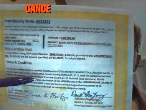 A Little Promissory Note Pays Mortgage in 14 days