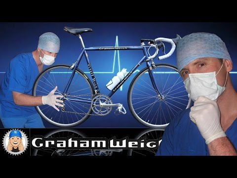 Graham Weigh Vintage Road Bike Restoration