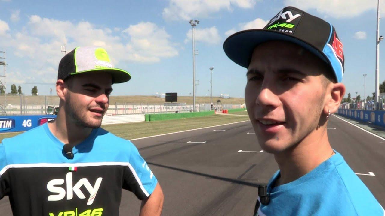 Il team SKY VR46 (© Sky) su GPOne.com MotoGP e Superbike online