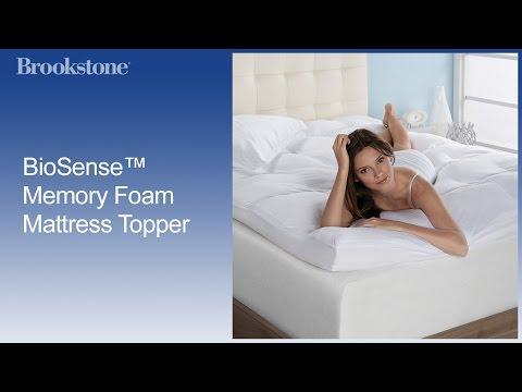 BioSense™ Memory Foam Mattress Topper