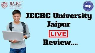 JECRC University, Jaipur 2019  College Reviews & Critic Rating