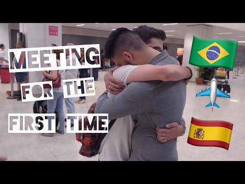 MEETING FOR THE FIRST TIME [SPAIN TO BRAZIL] - LONG DISTANCE RELATIONSHIP | LOBELO
