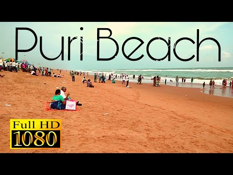 Puri Beach Odisha (@Bay Of Bengal), Beach with pleasant weather conditions.