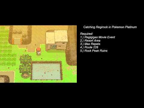 How to Catch Regirock in Pokemon Platinum