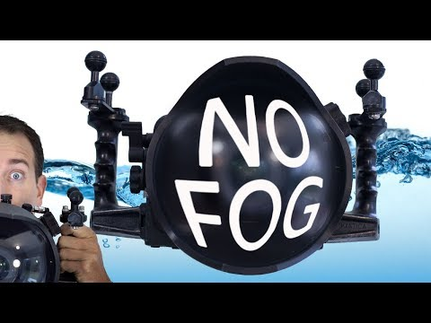 Prevent Underwater Camera Fog