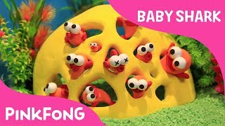 How to make Clay Fish   Pinkfong Clay   Baby Shark   Pinkfong Songs for Children