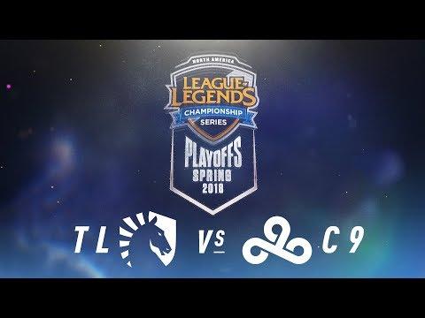 TL vs. C9  | NA LCS Spring Playoffs | Quarterfinals Game 3 | Team Liquid vs. Cloud9 (2018)