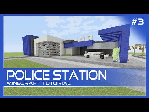 Police Station Tutorial #3 Minecraft Xbox/Playstation/PE/PC/Wii U