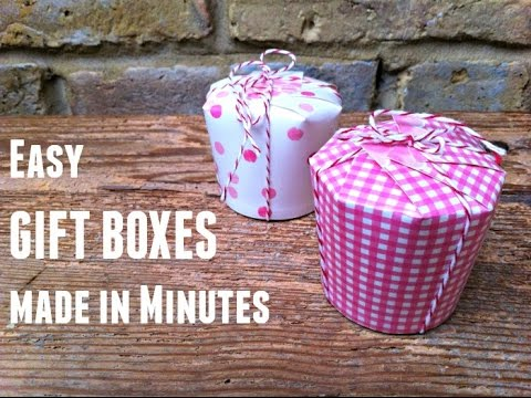 Mini Gift Boxes - Great last minute packaging - Candy Holder