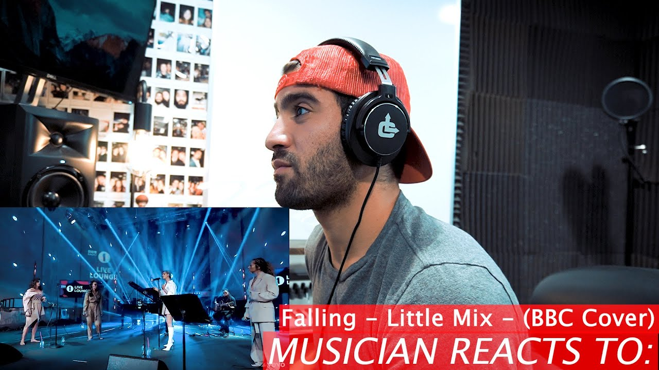 """""""Falling"""" (Cover) by Little Mix - Musician Reacts"""