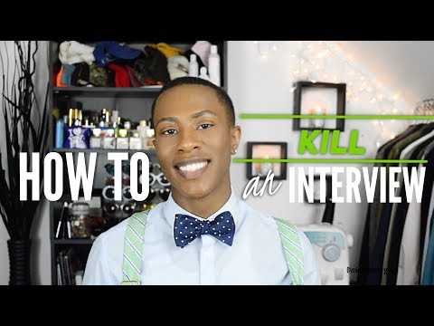 How to KILL an interview || Get offered the job ON THE SPOT
