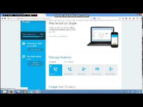 How to remove verified phone no on skype