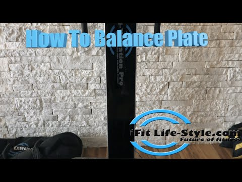 Vibration Plate Machine - How to Video - Balancing / Speed Control for Platform