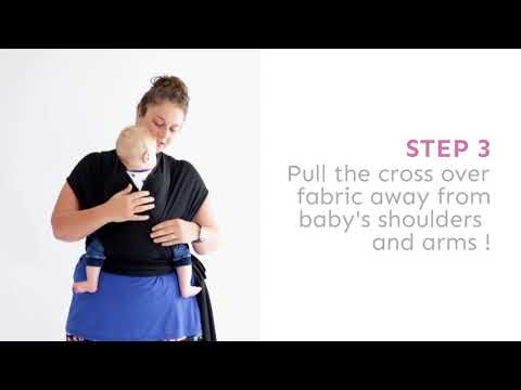 HOW TO TAKE BABY OUT OF BAMBALINO BABY SLING