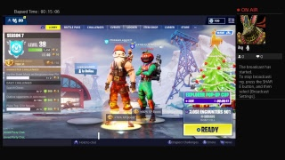 Playing Fortnite With My J & K