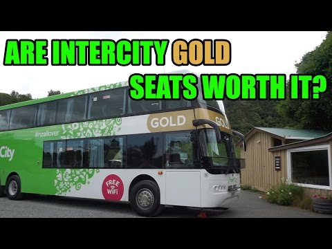 New Zealand Intercity Gold Bus Pass Review