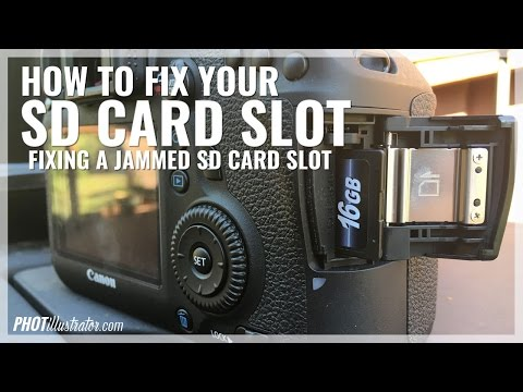 How to Fix your SD Card Slot