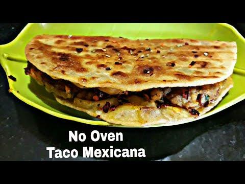 Taco mexicana recipe  taco mexicana without oven recipe  #5