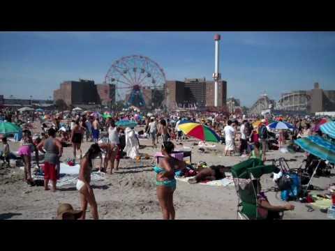 Beach at Coney Island, Brooklyn, New York City