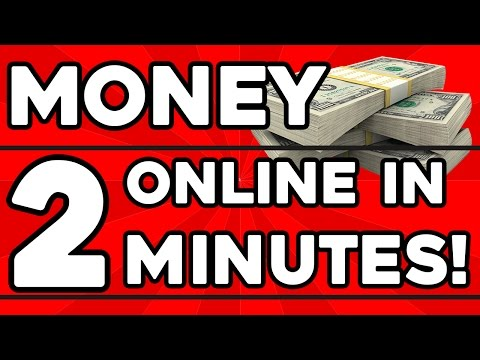 How to make Money Online in 2 MINUTES! (For Teens)