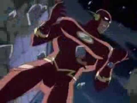 Flash breaks the speed force