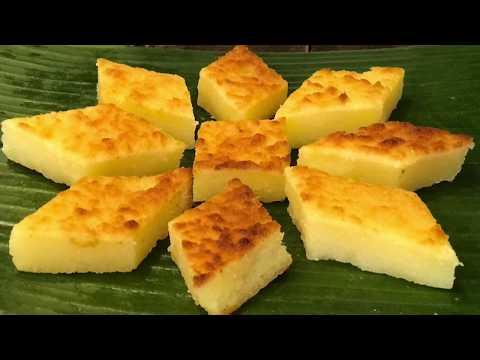 烘木薯糕 Baked Tapioca Kuih /Kuih Bingka Ubi