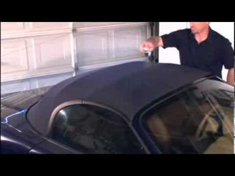 Cleaning & Protecting Convertible Tops with RaggTopp