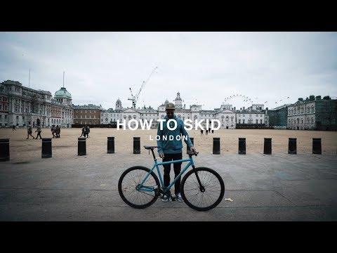 HOW TO SKID A FIXED GEAR BIKE!
