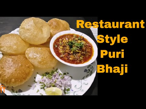 Restaurant Style Puri Bhaji |पूरी भाजी| How to make puri Bhaji By khamang |Maharashrian recipe