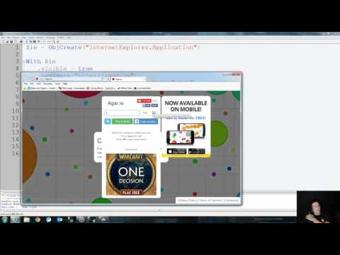 How to make a bot - AutoIt - API Explained - Agar.io bot
