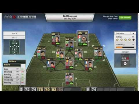 FiFa 12 :: Team of The Week Ep.1