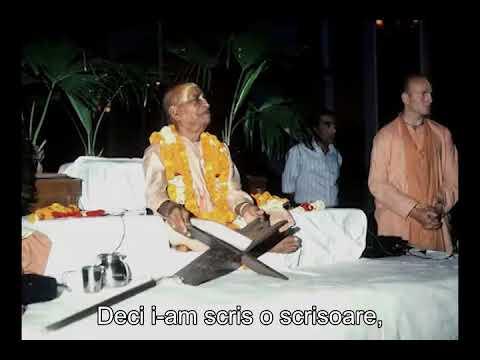 Prabhupada 0124 Vorbele maestrului spiritual să ne fie precum viața și sufletul nostru