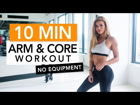 SEXY ARMS IN 10 MIN  / No Equipment | Pamela Rf