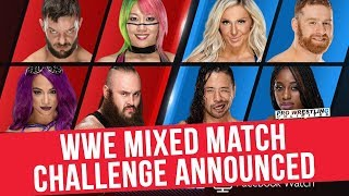 Wwe Mixed Match Challenge Announced For Facebook Watch