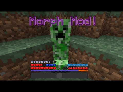 MORPH INTO A MOB! | Minecraft Add-On