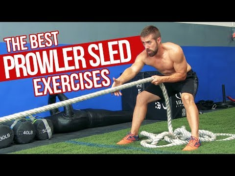 TOP 7 Prowler Sled Exercises for MAX Muscle & Power