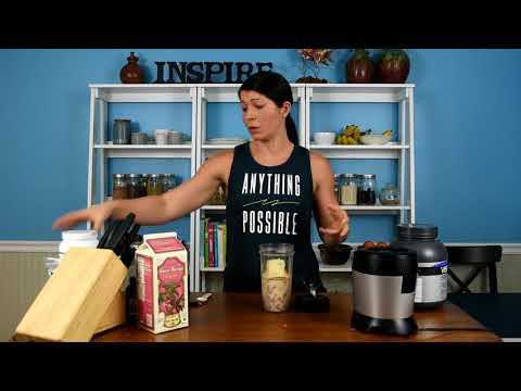Carrot Cake Smoothie | Smoothie Bowl Recipe