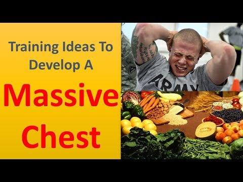 Training ideas to develop a massive chest.|Set off your diet plan.