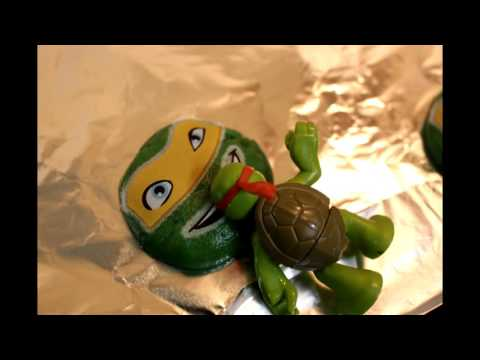 Let's make Ninja Turtles cookies