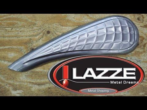 Metal Shaping Motorcycle Tank Bead Roller Pattern