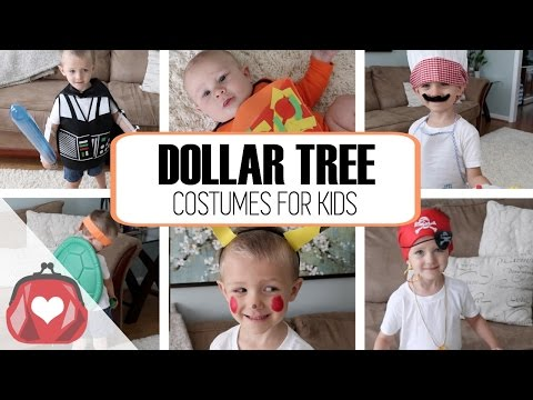 DOLLAR TREE | Halloween Costumes for Kids 2016