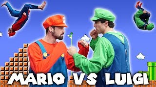 SUPER MARIO BROS PARKOUR COMPETITION IN REAL LIFE