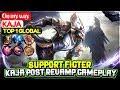 Download  Kaja Post Revamp Gameplay [ Top 1 Global Kaja ] On my way - Mobile Legends MP3,3GP,MP4