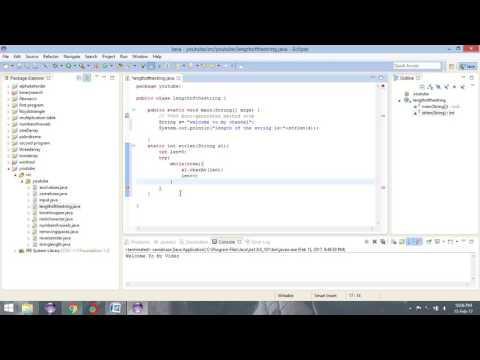 simple java program to find length of the String without using inbuilt method