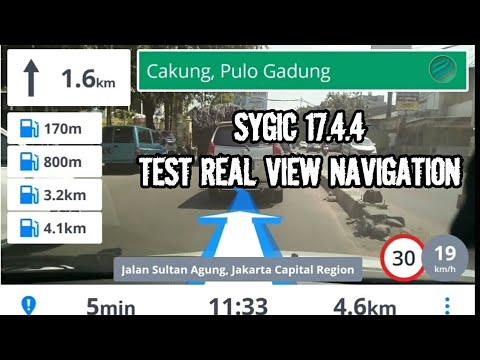 Sygic 17.4.4 | Test Real View Navigation di Jalan Alteri