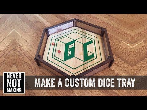 How to Make a Custom Dice Tray
