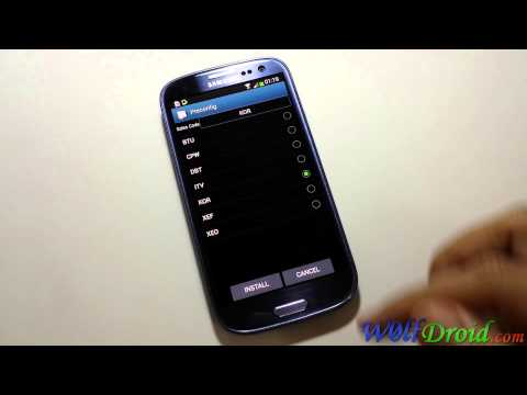 How to Change Country code [CSC] for Samsung Galaxy S3