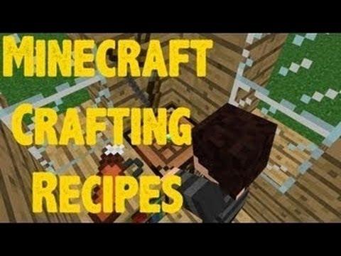 Minecraft Crafting All Recipes (1.5.2)